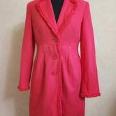 Яркое стильное пальто per una, р. 12(46)!!!
