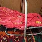 Переноска, качалка-шезлонг- легко качается, кресло удобно для кормления