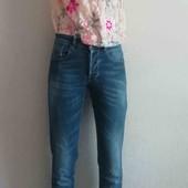 Стильный комплект, джинсы стрейч и блузка)))