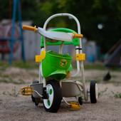 Детский велосипед, трёхколёсный