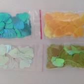 Сердечки пришивные 400шт, цвет на выбор