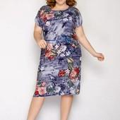 Платье с натуральной ткани оверсайз