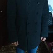Теплое мужское пальто холодная осень/зима 50-52