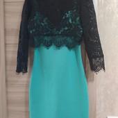 Красивое платье с кружевным болеро