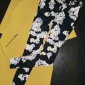 Очень красивые зауженные брюки в цветочный принт Lave Lebel pp 8