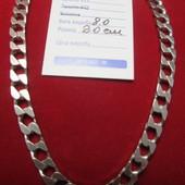 Шикарный серебряный браслет плоский квадратный Панцирь-серебро 925пр. !Новый с биркой!