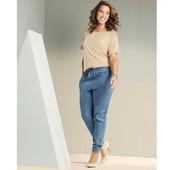 Женские лёгкие джинсовые брюки гаремки Esmara Германия размер евро 42