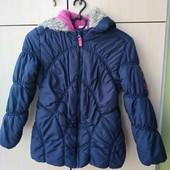 Зимняя курточка в хорошем состоянии на 9/10 лет