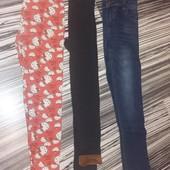 джинсы ,лосины на девочку