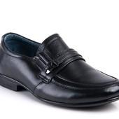 Натуральная кожа! Туфли для мальчиков. Отличное качество!