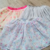 3 юбки 1 лотом, 2-3 года