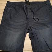 Германия! Батальные джинсовые бермуды, размер 60 (евро), полномерные, смотрите замеры!