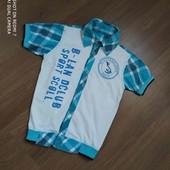 Рубашка для мальчика. Есть замеры.