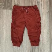 Штаны на котоновой подкладке Zara на 1,5-2года рост 92см