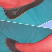 Полностью кожаные балетки Bueno, разм. 39 (25,5 см внутри). Сост. отличное!