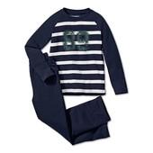 Удобные, хлопковые брюки для дома и сна от Tchibo (Германия), ориентир 134/140