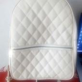 Рюкзачек молочного цвета!