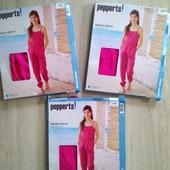 Летний яркий цвет фуксия полукомбинезон ромпер для девочки pepperts Германия