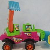 игрушка детская трактор.