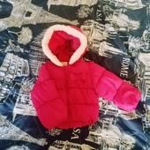 Яркая демисезонная куртка на девочку до до 2 лет