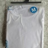 белая майка футболка m
