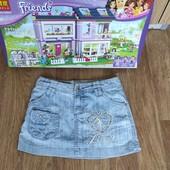 Не пропустите!!!Шикарная джинсовая ммни юбочка на девочку10-13 л.