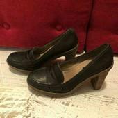 Шкіряні туфлі від ECCO 39р.