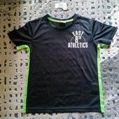 Классная спортивная футболка Hip-hops фирменная! Рост 122-128 на 7-8 лет Замеры!