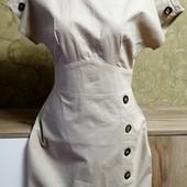 Собираем лоты!! Платье, размер 6/34/2,100%котон (Индия)