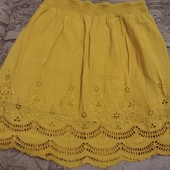 Класная котоновая юбка р.M