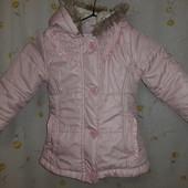 Куртка на дівчинку. 86-104