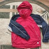 Собирай лоты) Классная ветровка олимпийка кофта на молнии для мальчика 7-10 лет . Есть замеры