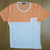 размер М. Мужская коттоновая футболка пр-во турция, маломерят