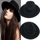 13-4 модная весенне-осенняя шляпа федора женская шляпа с широкими полями