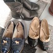 Обувь для девочки! Одним лотом.
