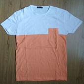 Мужская коттоновая футболка пр-во турция, размер xl.