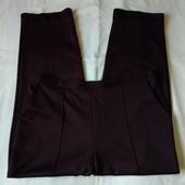 Плотненькие фирменные брючки темно-коричневого цвета,18р(3xl)