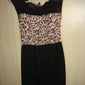 Фирменное платье Bershka размер S.