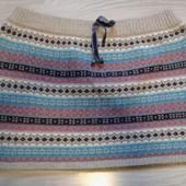 Фирменная красивая юбка р.16-18 состояние новой вещи