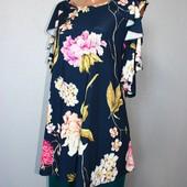 Качество!!! Свободная блуза от Style by Ewm, в отличном состоянии