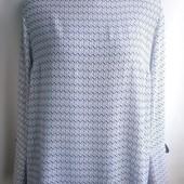 Блуза KappAhl, евро размер 44, наш 50-52, секонд, новая, 100% вискоза, без дефектов