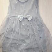 Милое нарядное платьице на 2-3 года, Турция