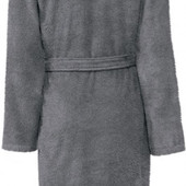 Домашний мужской махровый халат на запах с поясом и двумя карманами 100 % хлопок Miomare.