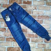 Классные модные джинсы для девочек. Размер 146-152.