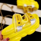 Инста-тренд###Яркие стильные шлёпанцы последний размер 38-24cм!!! УП -10%
