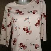 Мега красивая стильная блуза M&S pp 8