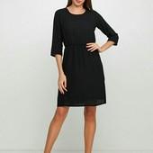 Легкое шифоновое платье Esmara германия, евро 42 чёрное