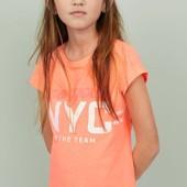 Яркая футболка H&M Англия. Размер 146/152 на 10-12лет. Новая с биркой