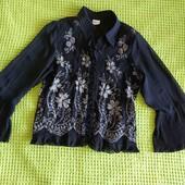 легкая блуза р 48