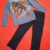 Пижама Spider man для мальчика, на 6-7лет(116-122)